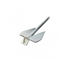 French Anker -  van getrokken staal en vuurverzinkt. Diverse afmetingen, prijs vanaf 6 kg