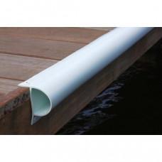 Steiger stootrand P-Profiel  PVC 240 cm - ZONDER kern  - diverse kleuren