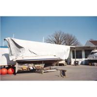Dekkleed, boatcovers, dekzeil, Talamex - type 31171302 ECONOMY 3 x 5 meter wit
