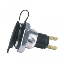 Talamex - Concentrisch, spatwaterdicht. Maximale belasting: 20 Amp. Maximale wanddikte 10 mm
