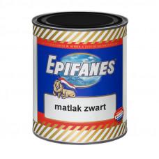 Epifanes Matlak, Blik 750 ml, mat zwart