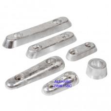 Vetus Aluminium huid-anode Type 15S (excl. aansluitset)