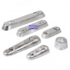 Vetus Aluminium huid-anode Type 25C (excl. aansluitset)