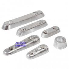 Vetus Aluminium huid-anode Type 25S (excl. aansluitset)