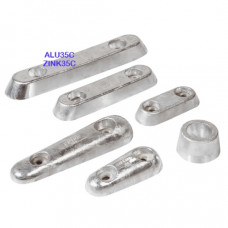 Vetus Aluminium huid-anode Type 35 (excl. aansluitset)