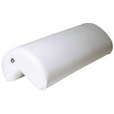Kussen type Bedflex, model rugleuning hoek, kleur  wit