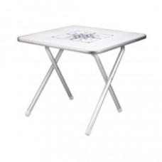 Talamex vierkant tafeltje - wit
