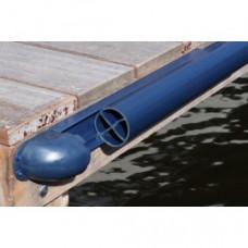 Steiger stootrand Rail-Profiel  PVC 240 cm - diverse kleuren