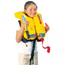 PILOT Junior reddingsvest 150 Newton zonder harnas - Kinderen 18 tot 40 kg - rood