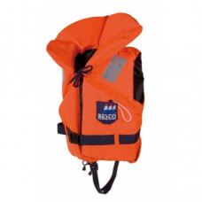 Reddingsvest, Zwemvest type Besto Racingbelt 100 N oranje print, maat: Medium 60 tot 70 kg
