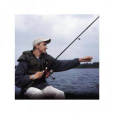 Reddingsvest, zwemvest, type Besto Fisherman voor personen van70++ kg, Maat XXL, 50 Newton, kleur groen