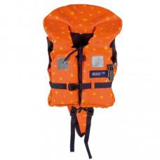 Reddingsvest, zwemvest type Besto Racingbelt Special 100 N, oranje + gele sterren, Maat: Baby 0 tot 15 kg