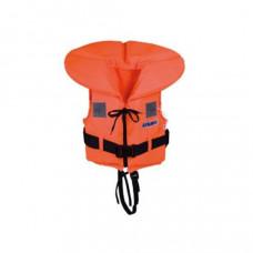 Talamex Reddingvest 100 N (oranje print) - Maat: Junior 30 tot 40 kg