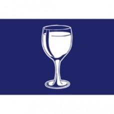 Vlag, Borrel vlag, 30 x 45 cm