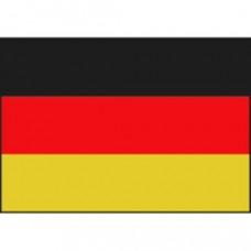 Vlaf type Duitse vlag - 20 x 30 cm