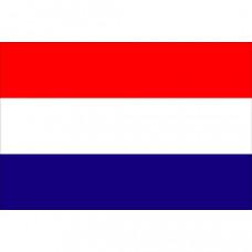 Nederlandse vlag classic (spunpolyester) rood/wit/DONKER blauw - diverse afmetingen prijs vanaf