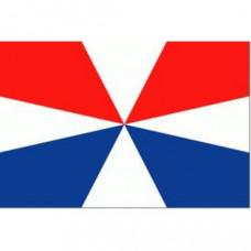 Geusvlag (spunpolyester) rood / wit / blauw - diverse afmetingen