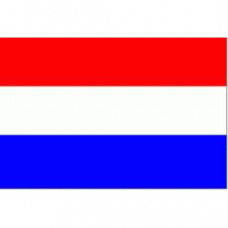 Nederlandse vlag (spunpolyester) rood/wit/blauw - diverse afmetingen prijs vanaf 20 x 30 cm