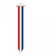 Nederlandse wimpel - rood/wit/blauw 2,50 meter