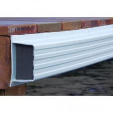 Steiger stootrand BUMPER  PVC 240 cm - MET kern  - diverse kleuren