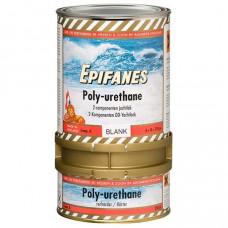 Epifanes Poly Urethane Jachtlak blank hoogglans met UV filter (Blik A vernis & B verharder) 2 component, 750 gr