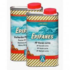 Epifanes PP vernis Extra (Blik A vernis & B verharder) 2 component, 2 ltr