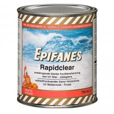 Epifanes Rapidclear met UV filter, blank zijdeglans, 750 ml