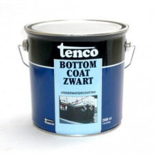 Tenco Bottom Coat (onderwatercoating) - zwart 2 ltr.