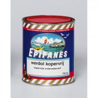 Werdol Kopervrij harde onderwaterverf - Blik 2000 ml - Div kleuren