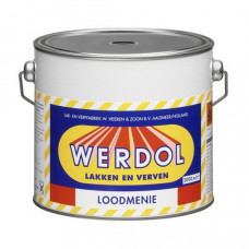 Werdol Loodmenie- Blik 500 ml