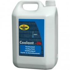Koelvloeistof Coolant voor de motor 5 ltr tot -26 graden